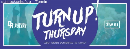 Turn UP! Thursday Werbeplakat