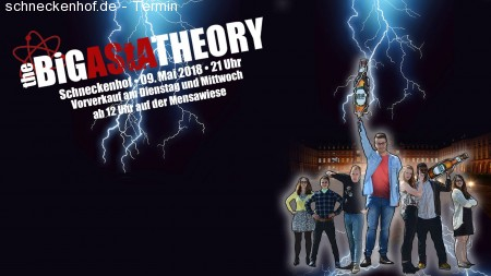 The BiG AStA Theory - Fotobox Werbeplakat