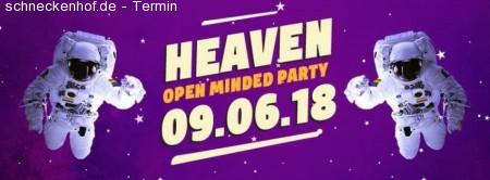 Heaven Party - Deep Space Werbeplakat
