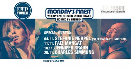 Monday's Finest - Montags LIVE Session Werbeplakat