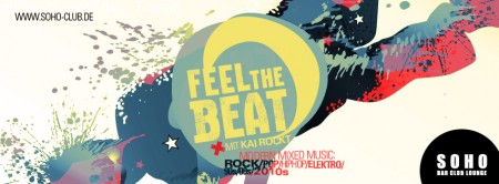 Feel The Beat Werbeplakat