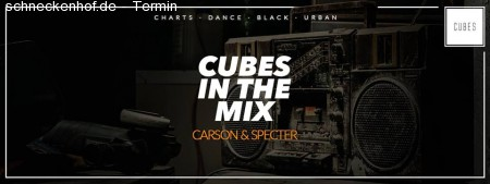Carson & Specter | CUBES in the Mix Werbeplakat